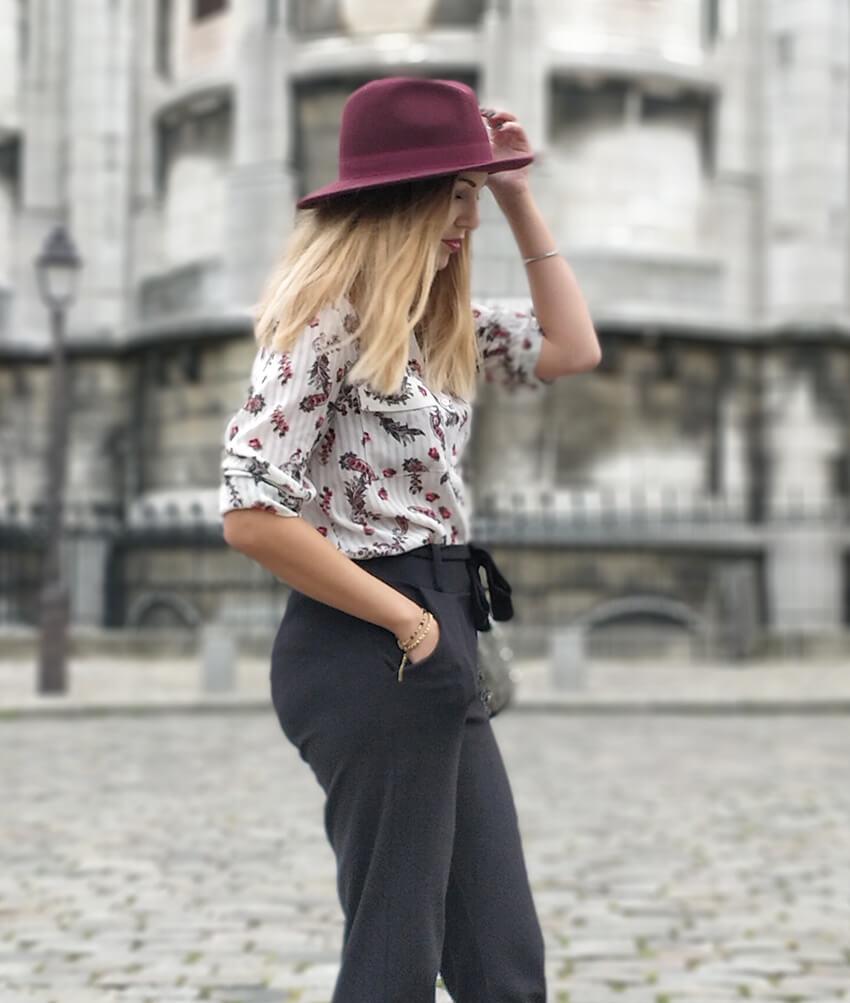 blog mode paris montmartre chapeau - Garder le style en automne