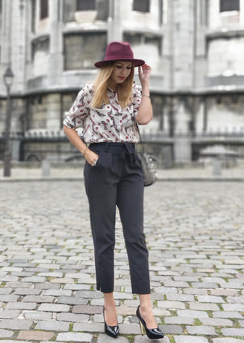 blog tenue mode paris montmartre - Garder le style en automne