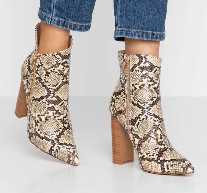 bottines serpent zalando - Ma sélection de bottines pour l'hiver
