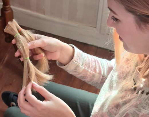 Faire un don de cheveux à une association