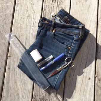 IMG 7862 340x340 - Tuto : faire un short en jean