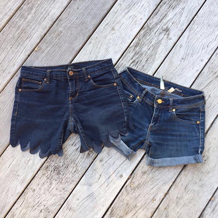 IMG 7875 - Tuto : faire un short en jean