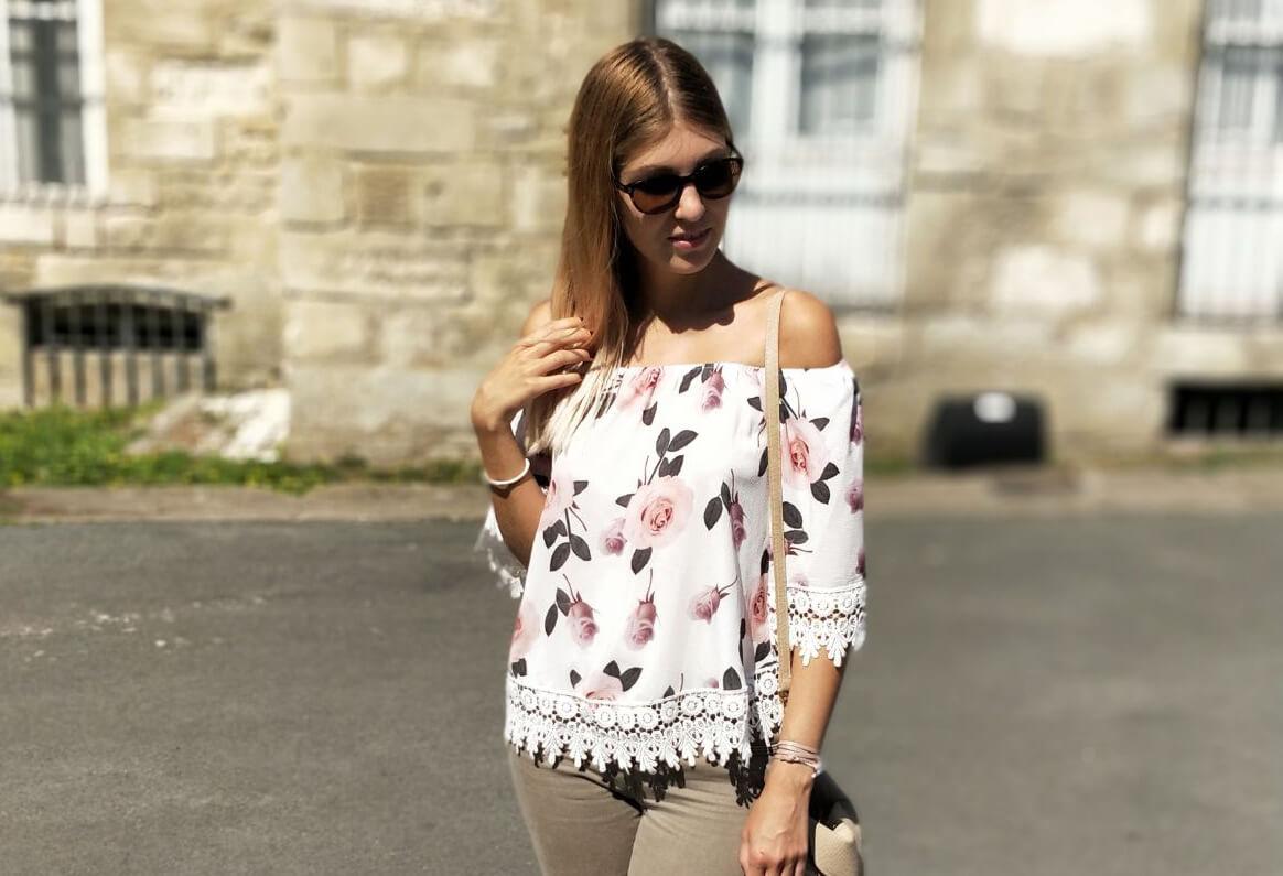 vignette blouse fleurie - Jolie blouse fleurie