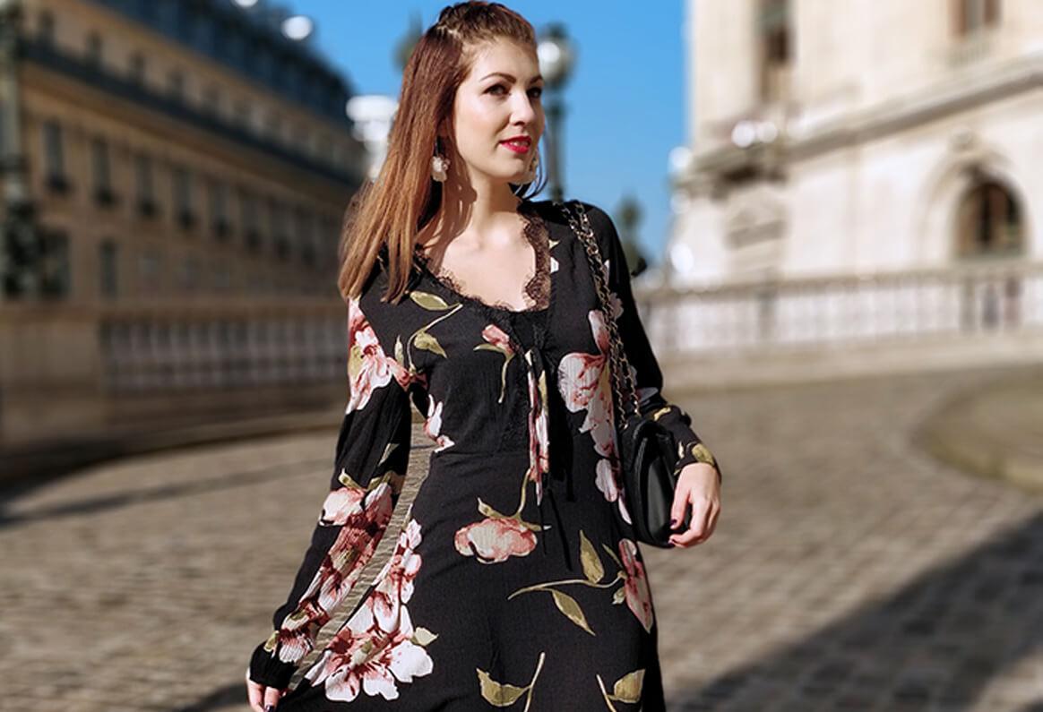 Robe tenue Paris blog blogueuse mode 19 janvier