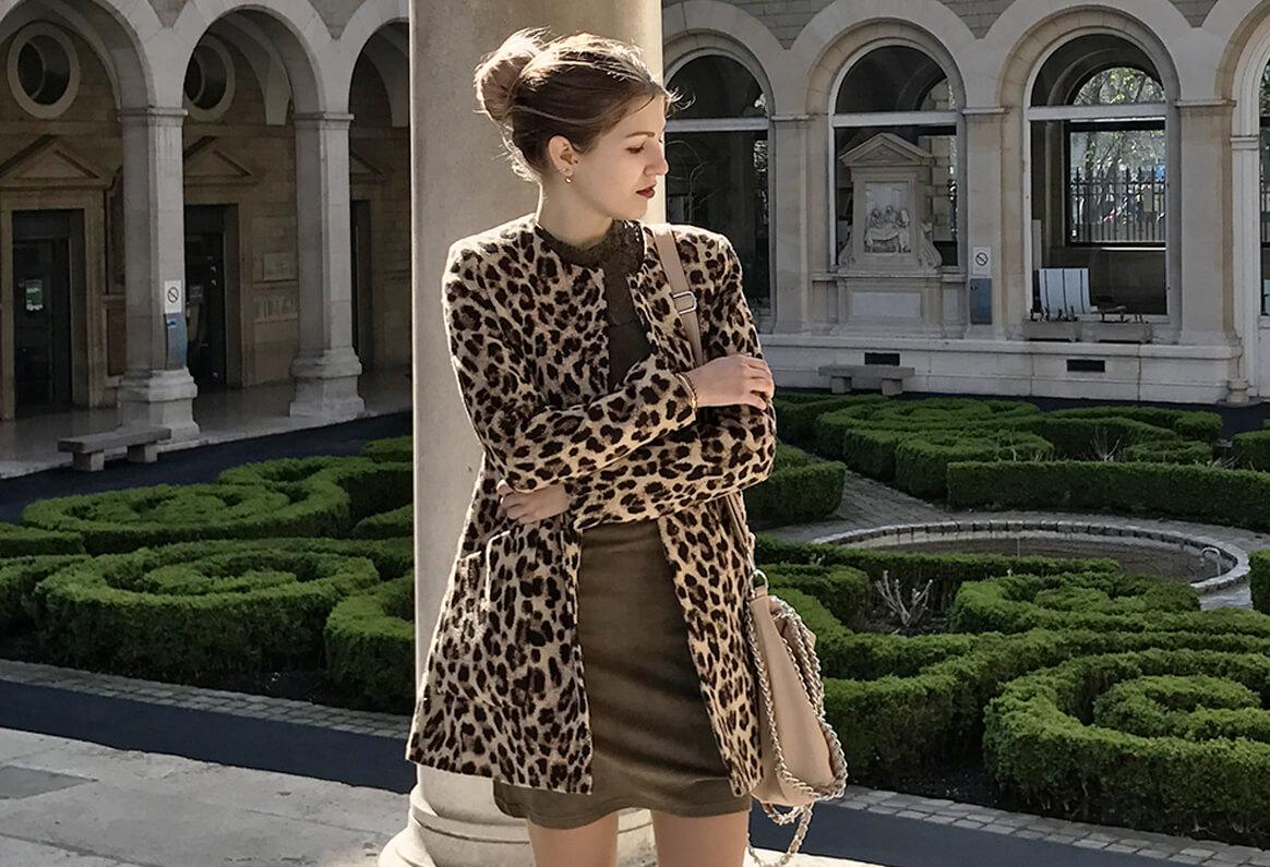 vignette veste leopard - Vous avez dit léopard ?