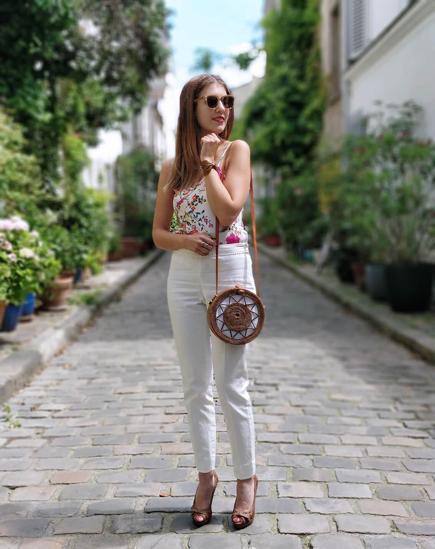 blog mode paris 19 janvier sac rond bali - De la verdure et du soleil