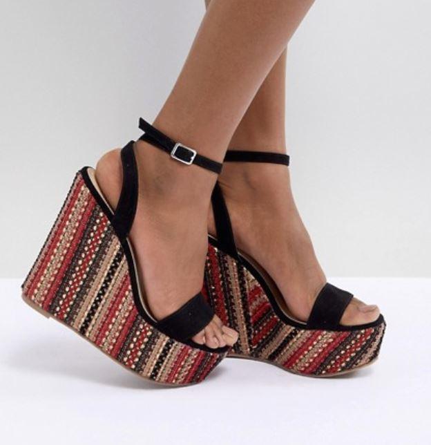 sandales asos compensees - Payer moins cher sur Asos, c'est possible !