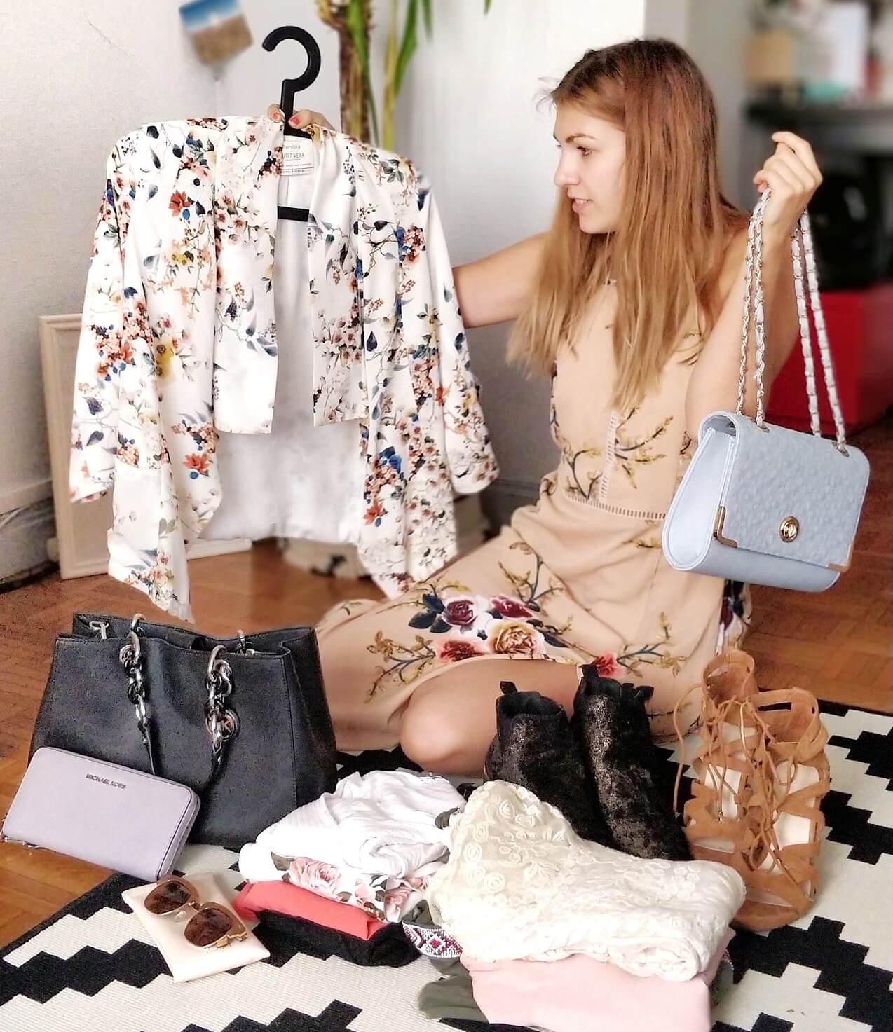 blogueuse vide dressing préparation - Préparer un vide-dressing