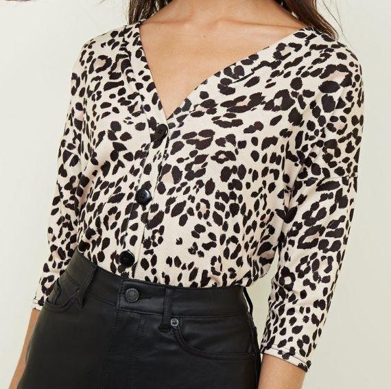chemise new look - Toujours plus de léopard