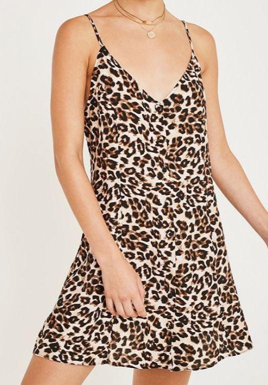 robe urban outfitters - Toujours plus de léopard