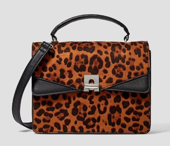 sac Stradivarius - Toujours plus de léopard