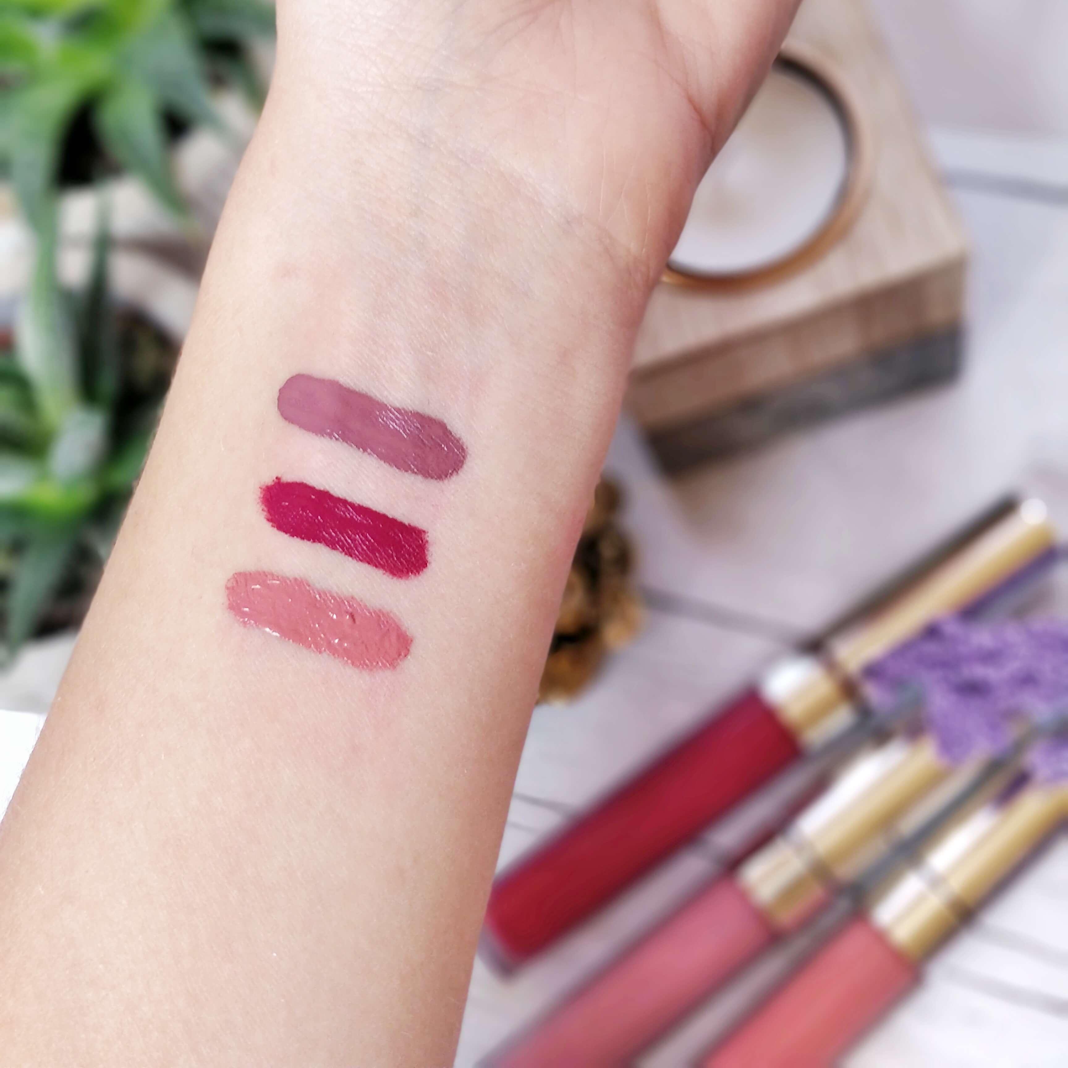 rouge à lèvres liquide matte colourpop swatch - Je teste une quarantaine de rouges à lèvres liquides !