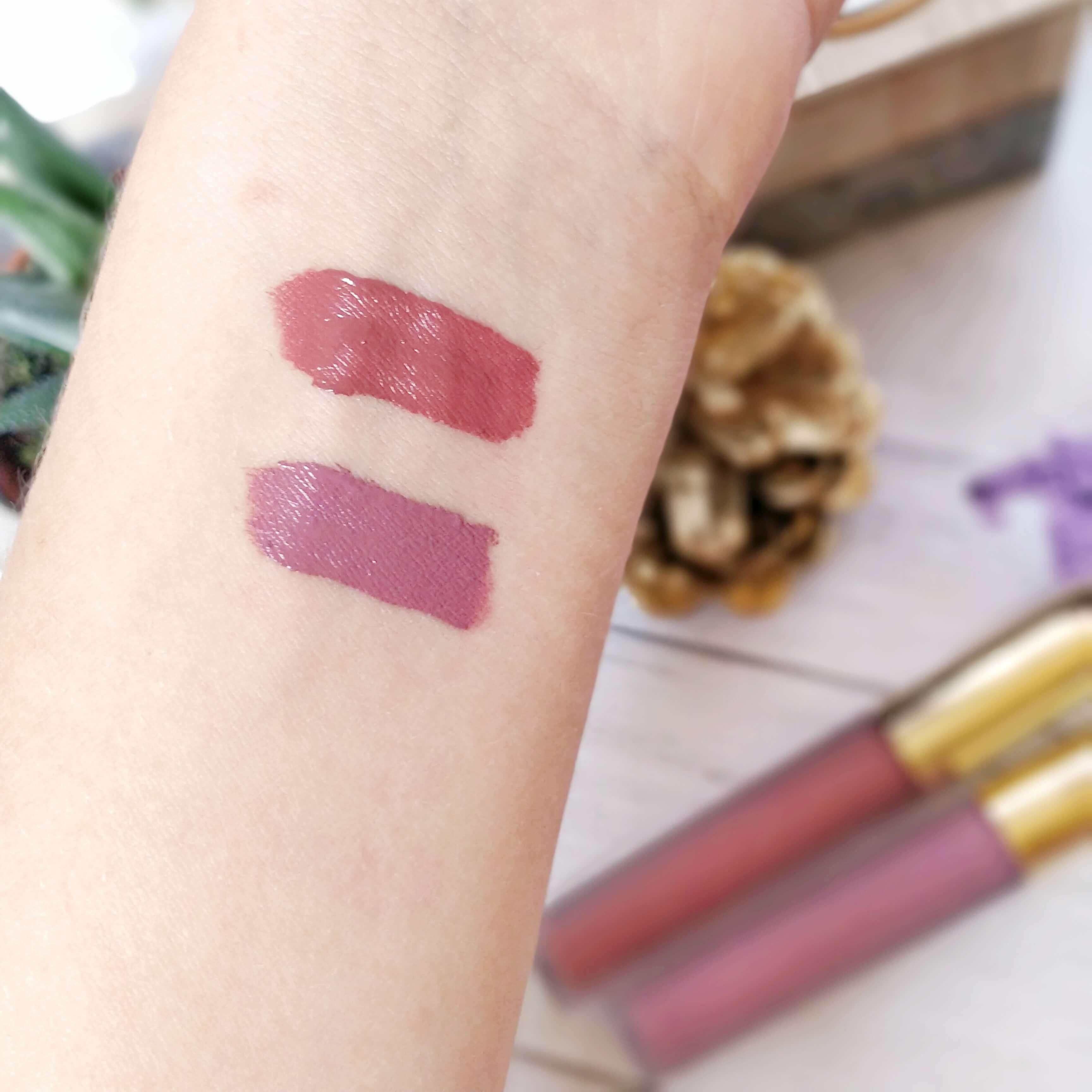 rouge à lèvres liquide matte gerard cosmetics swatch - Je teste une quarantaine de rouges à lèvres liquides !