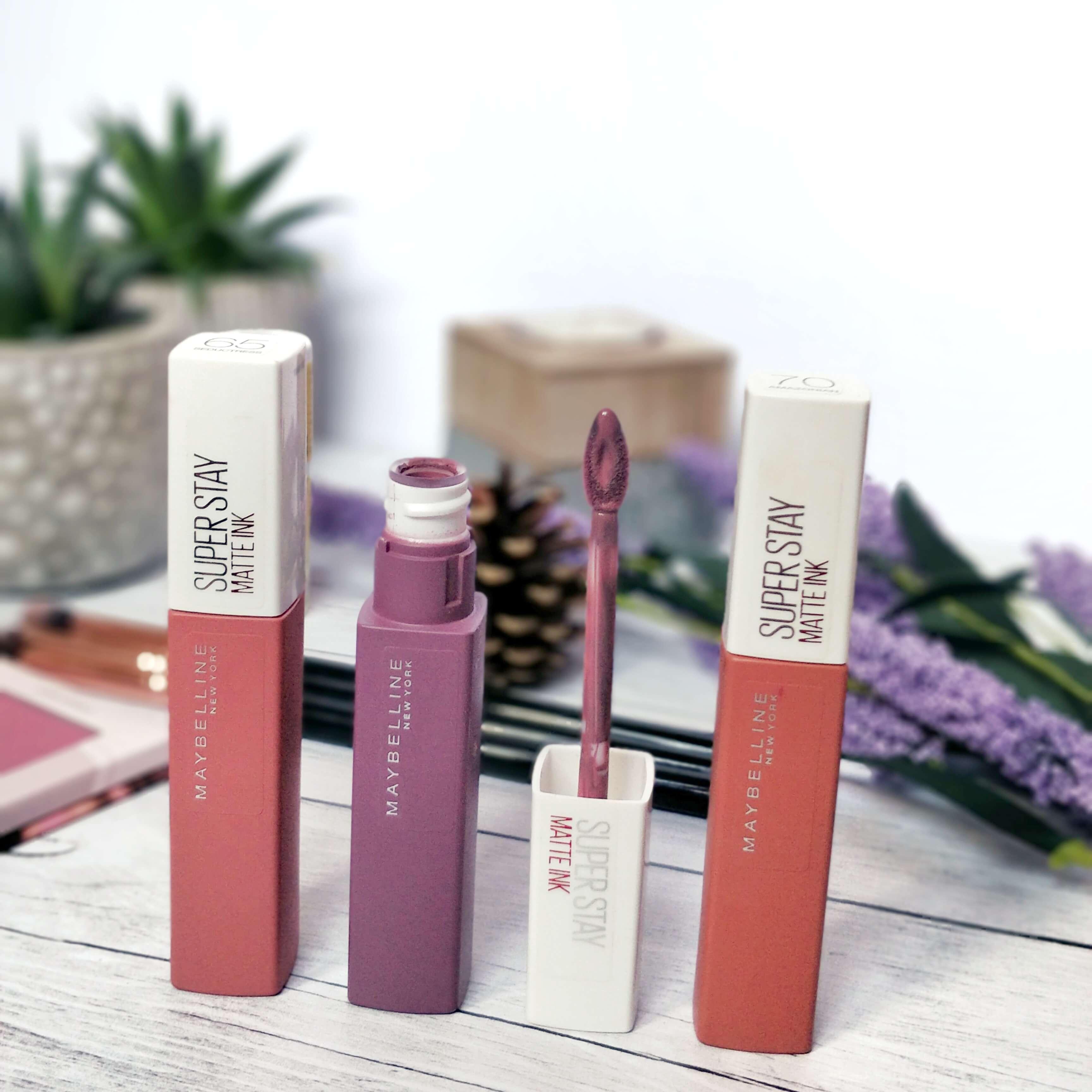 rouge à lèvres superstay matte ink maybelline - Je teste une quarantaine de rouges à lèvres liquides !