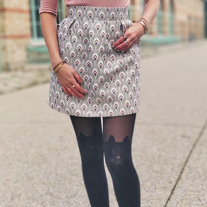 blog mode details collants jupe fait main - C'est encore plus beau quand c'est fait main