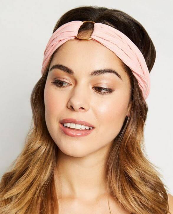 bandeau anneau new look - On accessoirise nos cheveux !