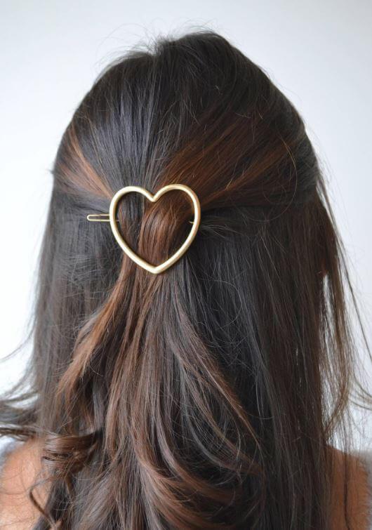 barrette coeur etsy - On accessoirise nos cheveux !