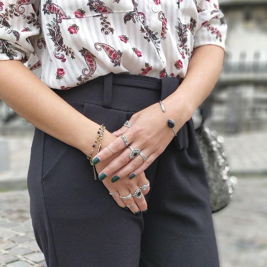 blog mode paris details bijoux - Garder le style en automne