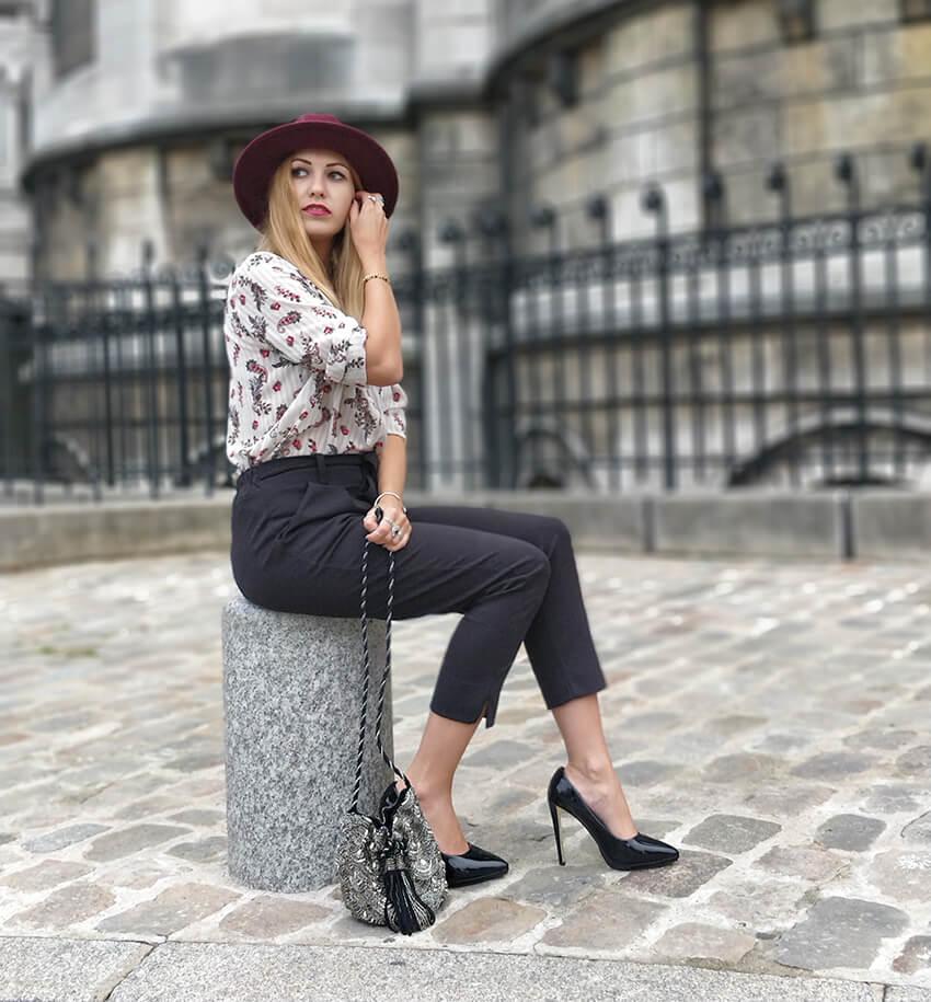 blog tenue mode paris montmartre automne - Garder le style en automne