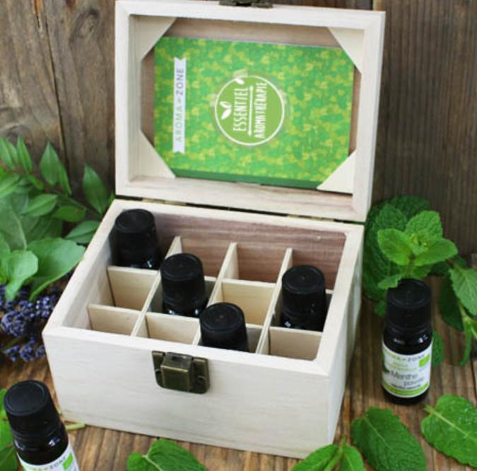 coffret huiles essentielles - Idées cadeaux éthiques et éco-responsables