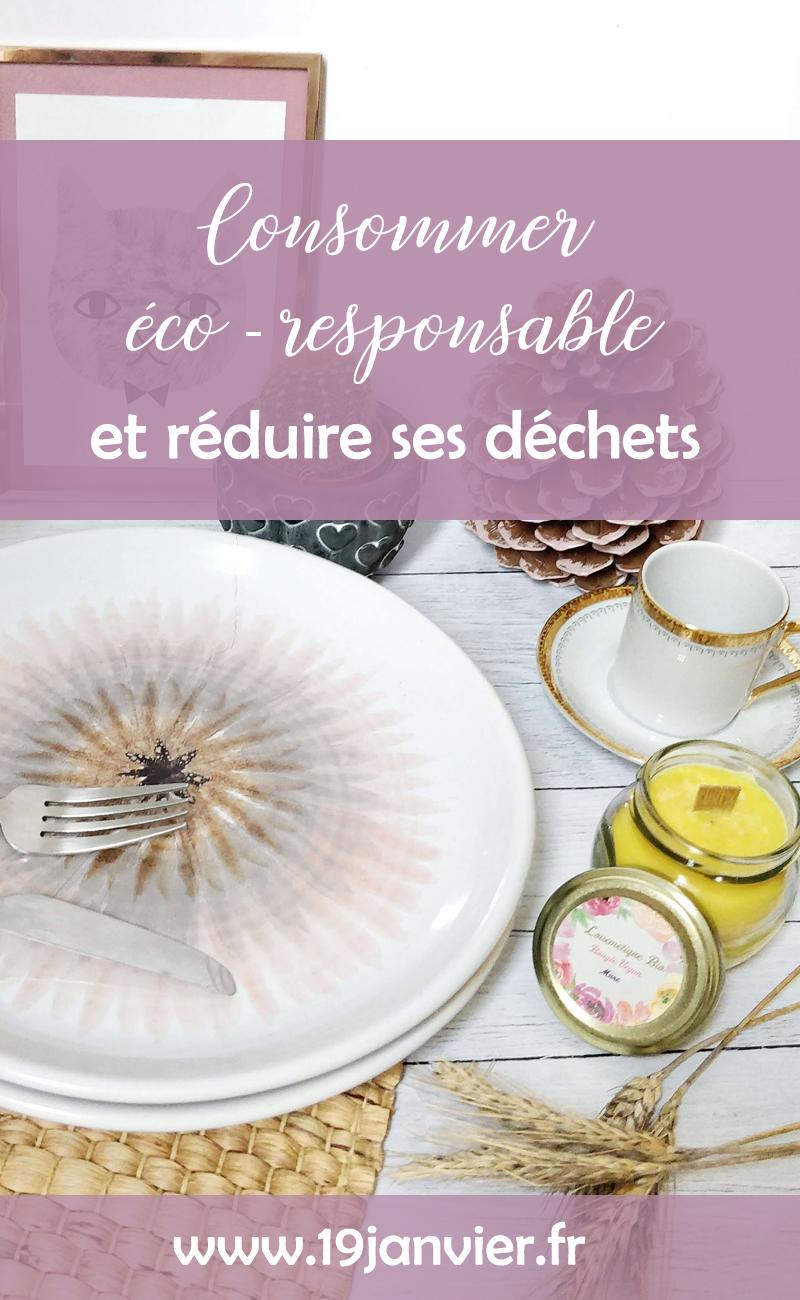 consommer éco responsable réduire déchets - Consommer éco-responsable et réduire ses déchets