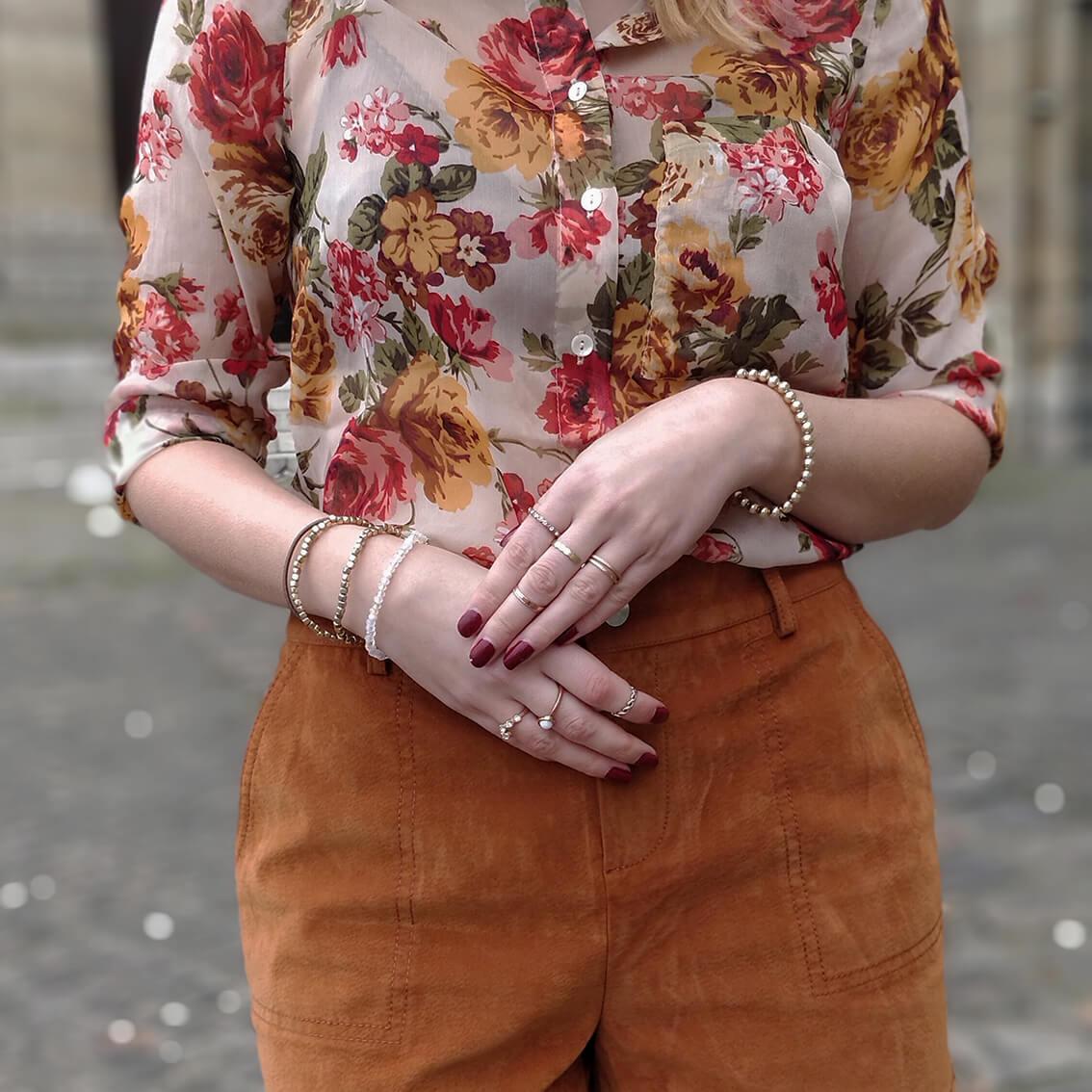 tenue hiver blog 19 janvier details bijoux - L'amour des shorts en hiver