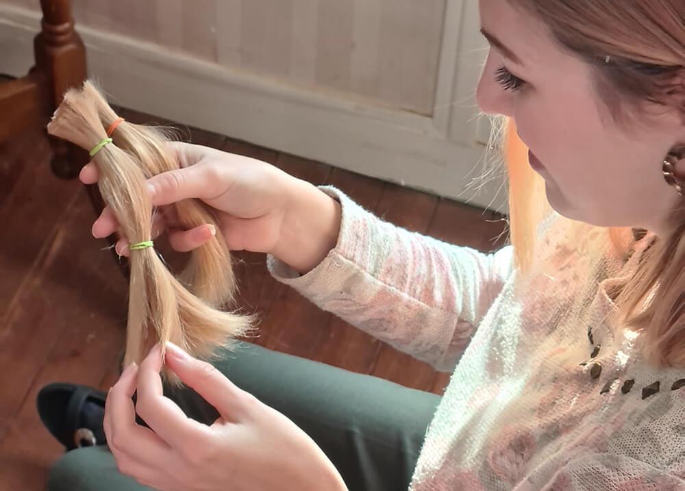 se couper les cheveux don association - Faire un don de cheveux à une association